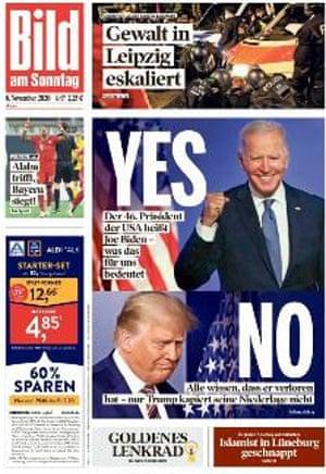Bild front page 8 November 2020