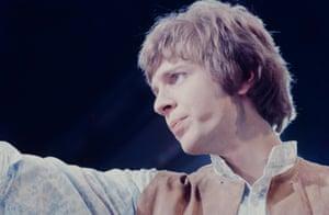 Scott Walker on stage in Tokyo, January 1968.