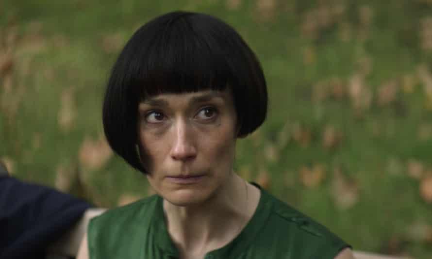 Hair-raising ... Claire (Sian Clifford) with 'pencil' haircut.