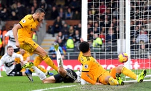 Romain Saiss gets Wolverhampton Wanderers back on level terms.