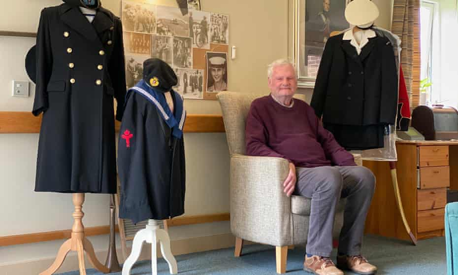John, a resident at one of the Royal Alfred Seafarers' Society care homes in Surrey.