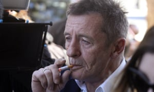 Phil Rudd arrives for sentencing at the Tauranga District Court on New Zealand's North Island on Thursday, 9 July, 2015.
