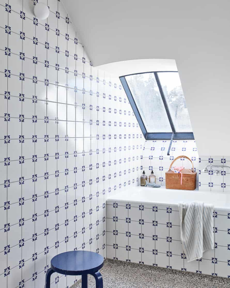 Tiles with style: the bright and breezy bathroom.