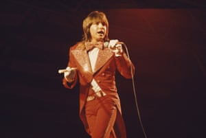 David Cassidy performing on a European tour, 12 October 1973