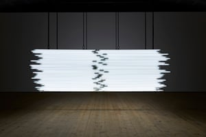 Monica Bonvicini, Light Me Black, 2009.