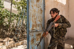 Abu al-Moughira, 22, came to take care of his father but he was killed by Islamic State in 2015