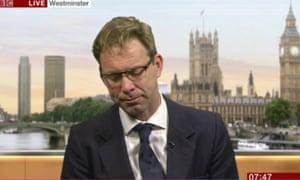 Tobias Ellwood  on BBC Breakfast