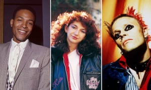 Marvin Gaye, Kate Bush and the Prodigy's Keith Flint, three of the artists to make our Top 100.