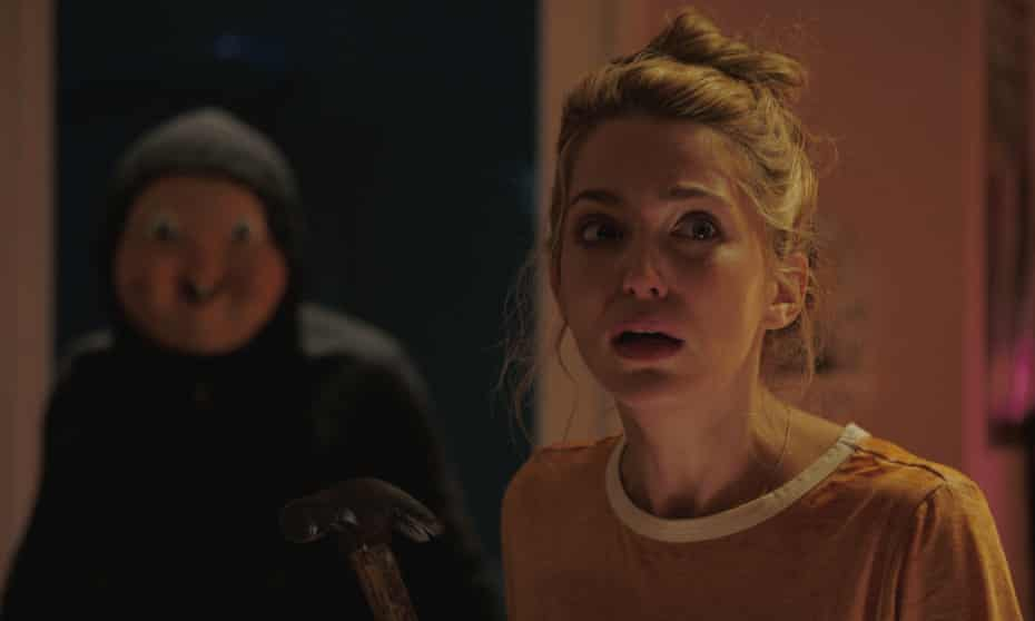 'In the slasher movie canon, there's something quite naive and likable about how it seems to exist in a pre-Scream universe' ... Jessica Rothe in Happy Death Day.