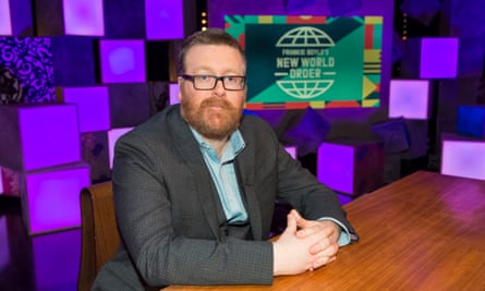 Satire can't be easy in 2020 ... Frankie Boyle's New World Order.