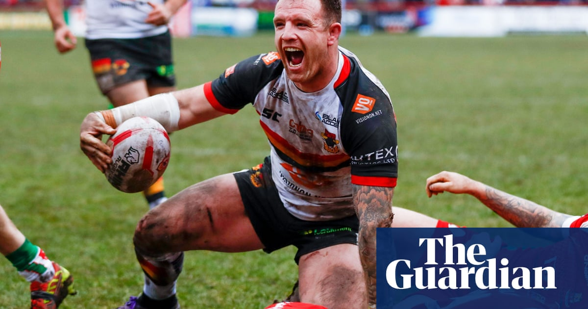 Bradford's George Flanagan banned for eight games for testicle attack