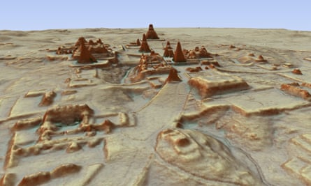 The Earth Archive plans to use Lidar, which has been used to reveal archaeological treasures such as the Mayan city of Tikal.