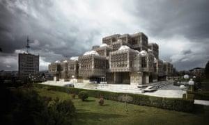 Andrija Mutnjaković's National and University Library of Kosovo