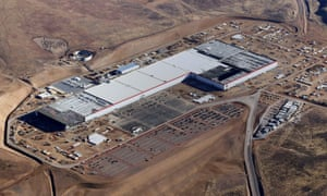 """The Tesla Gigafactory is being built in Nevada thanks to one of the recent tax-break """"megadeals"""" awarded by cities and states"""