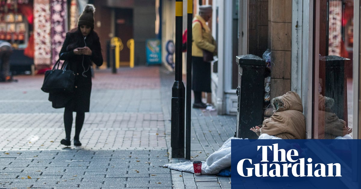 'How else am I meant to live?' Rough sleepers defy anti-begging law