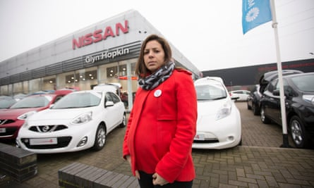 Ana Keogh who bought a car from a main Nissan dealer and has since needed three engines.