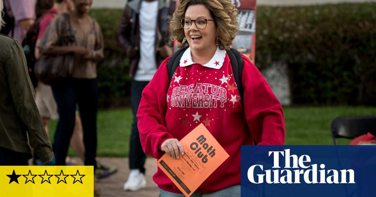 Life of the Party review – Melissa McCarthy's college comedy
