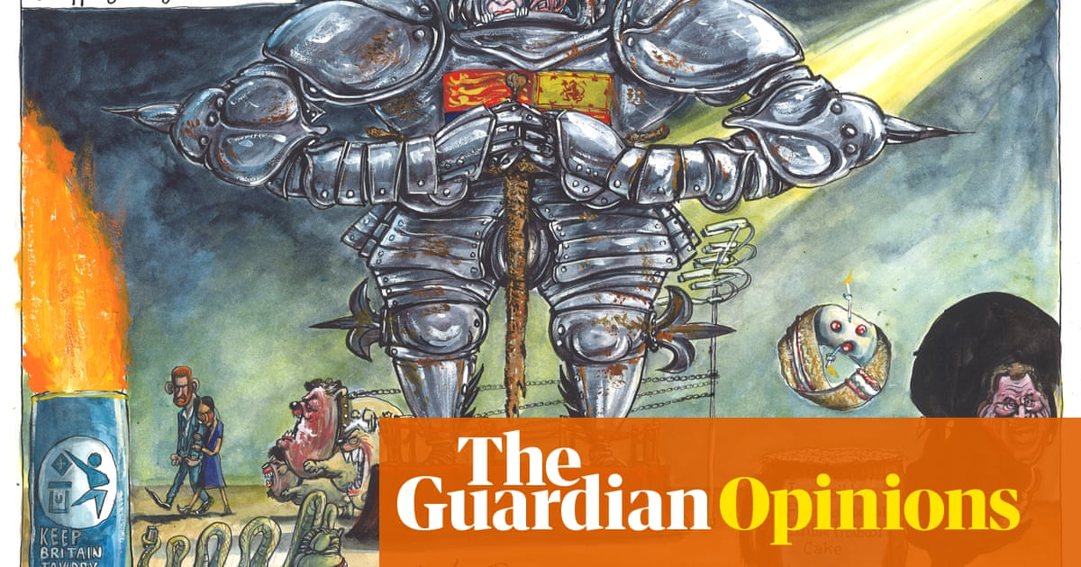 Martin Rowson on Harry and Meghan's Oprah interview – cartoon
