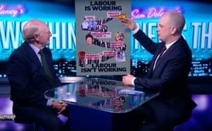 Neil Kinnock rates Jeremy Corbyn's performance on Sam Delaney's News Thing