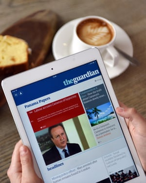 Guardian content is accessible online via a growing range of platforms.