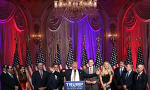Presidential Candidate Donald Trump Holds Primary Night Press Conference In Florida