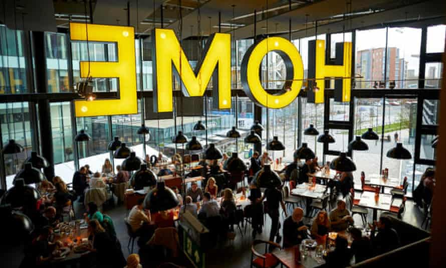 The restaurant at Home, a new arts centre in Manchester.