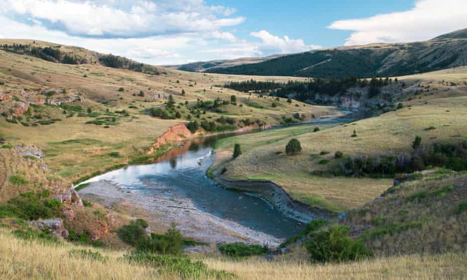 Scenery Along the Smith River, Montana, USA.