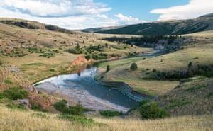 Along the Smith River, Montana.