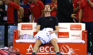 Andy Murray reflects on his three-set Davis Cup win over Bernard Tomic in only 1hr 46mins.