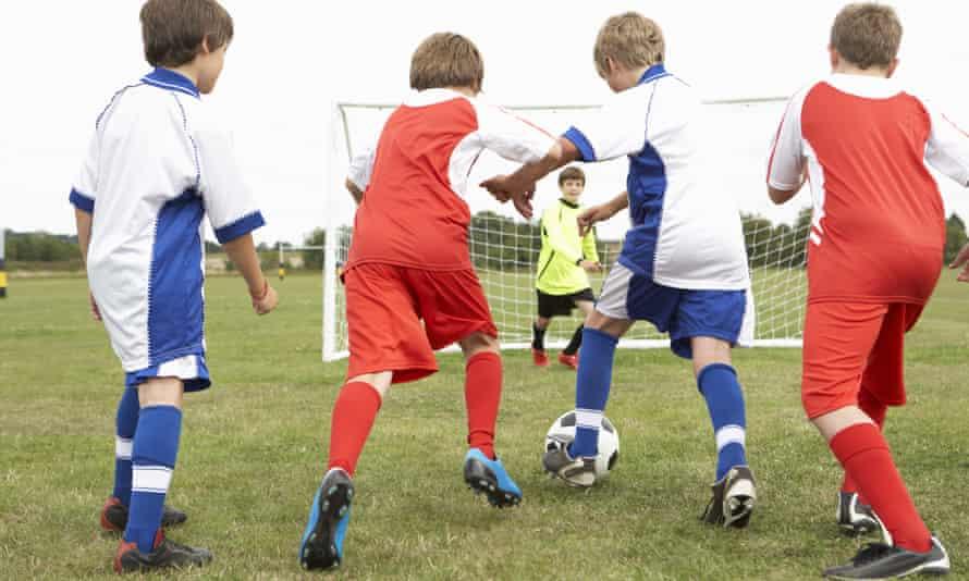 Dangerous game … junior football.