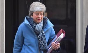 Theresa May leaves No 10.
