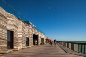 Hastings Pier on the Stirling prize shortlist
