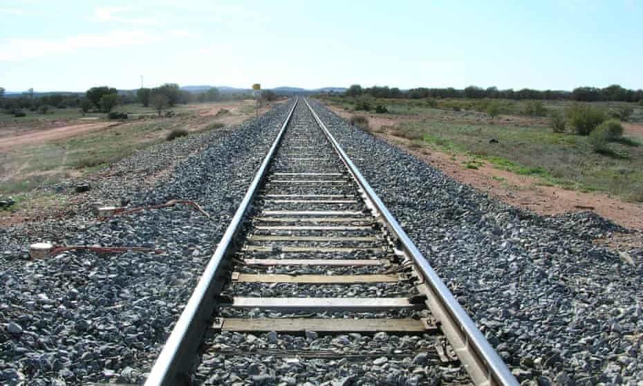 Country rail line