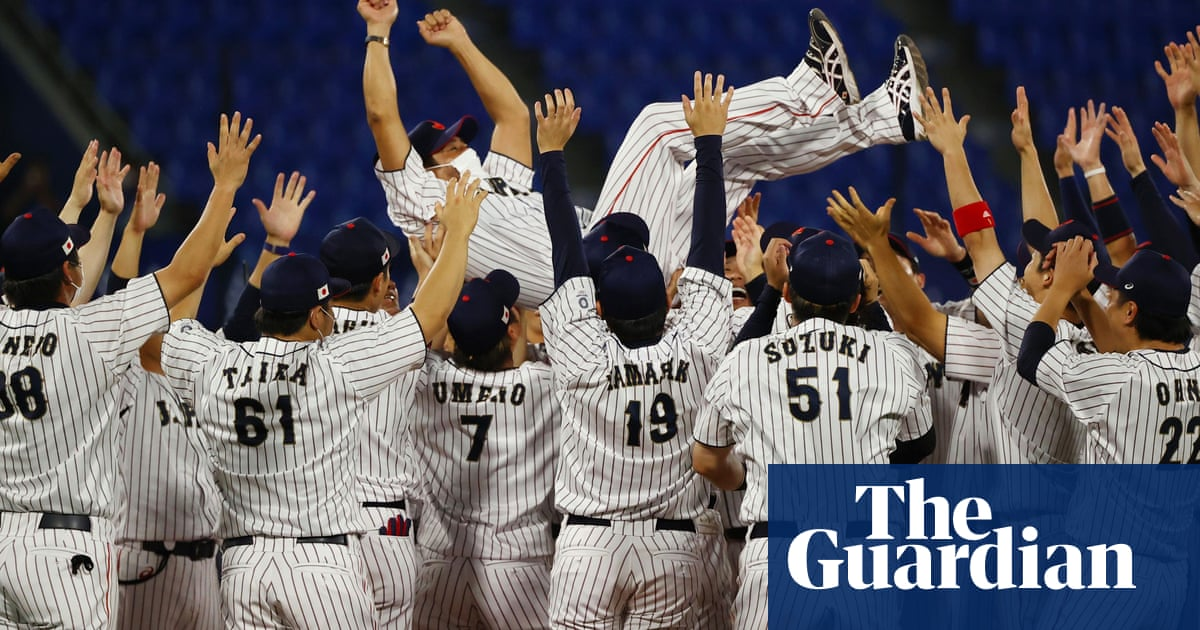 Japan win gold in baseball, an existential crisis dressed up as an Olympic sport
