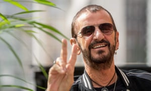 Teen mania in sound... Ringo Starr.