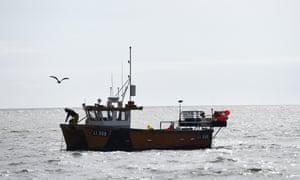 Fishing boat in Selsey
