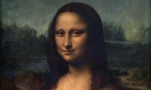The portrait of Mona Lisa, by Leonardo da Vinci.