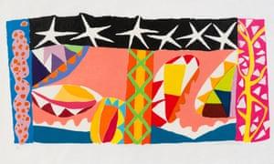 A Gillian Ayres painting