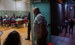 Immigrants take a workshop to make a preparedness plan, in case they are confronted by immigration officials.
