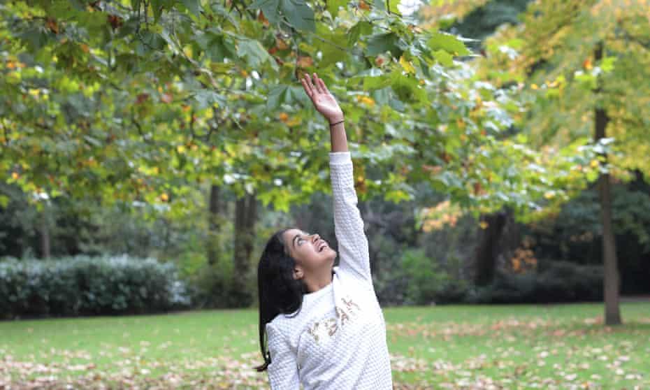 .Sanjana Parashar Beckenham South-east London ( PROJECT KID ) 17-10-2020 Photograph by Martin Godwin.