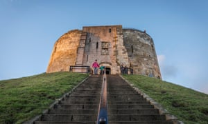 The beautiful Clifford's Tower in York