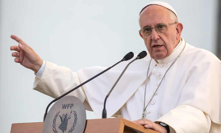 Pope Francis, who has long supported progressive causes in Argentina, and the centre-right president have often found themselves on opposite sides of political debate.
