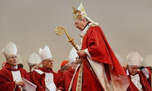 George Pell with other bishops at the 2008 World Youth Day in Sydney
