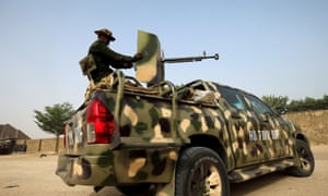 Nigerian military have been trying to contain militants in the north-east.