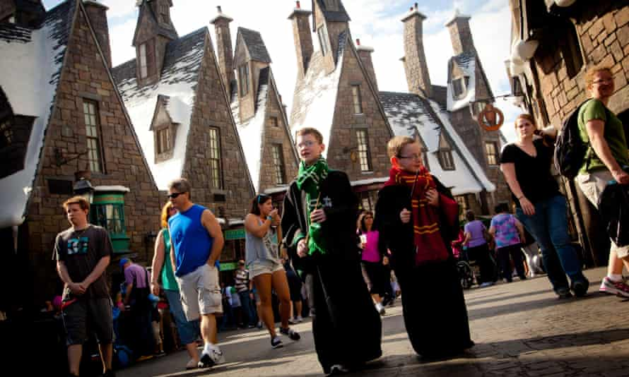 The Wizarding World of Harry Potter at Universal Orlando Resort.