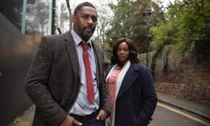 If a piece of TV makes me gasp harder than the offing of Wunmi Mosaku's character this year, my lungs might pop … DCI John Luther (Idris Elba) with DS Halliday (Wunmi Mosaku).