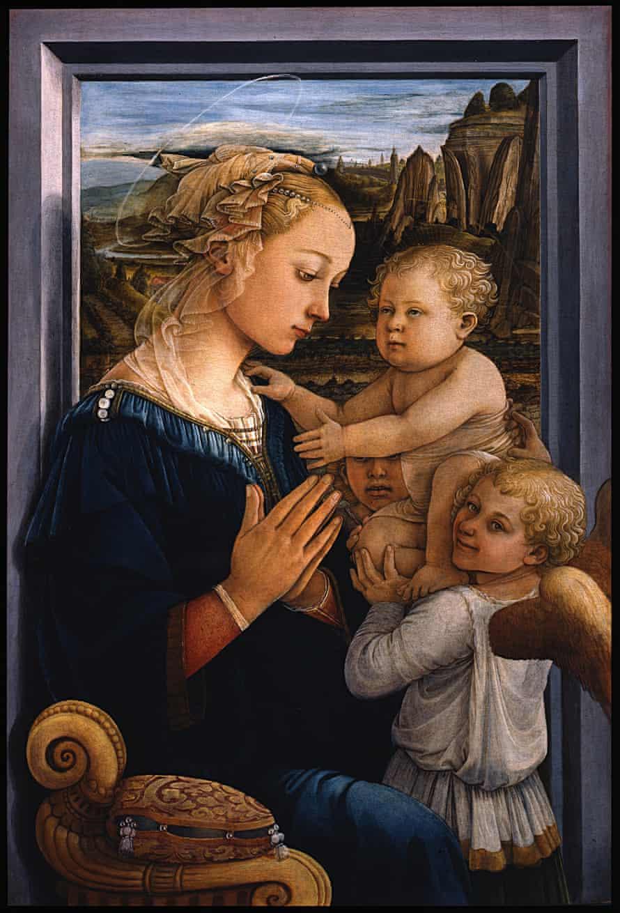 Filippo Lippi portrayed his lover Lucrezia as the Madonna.