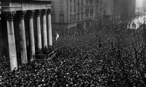 Michael Collins addresses a crowd at College Green in Dublin in 1922