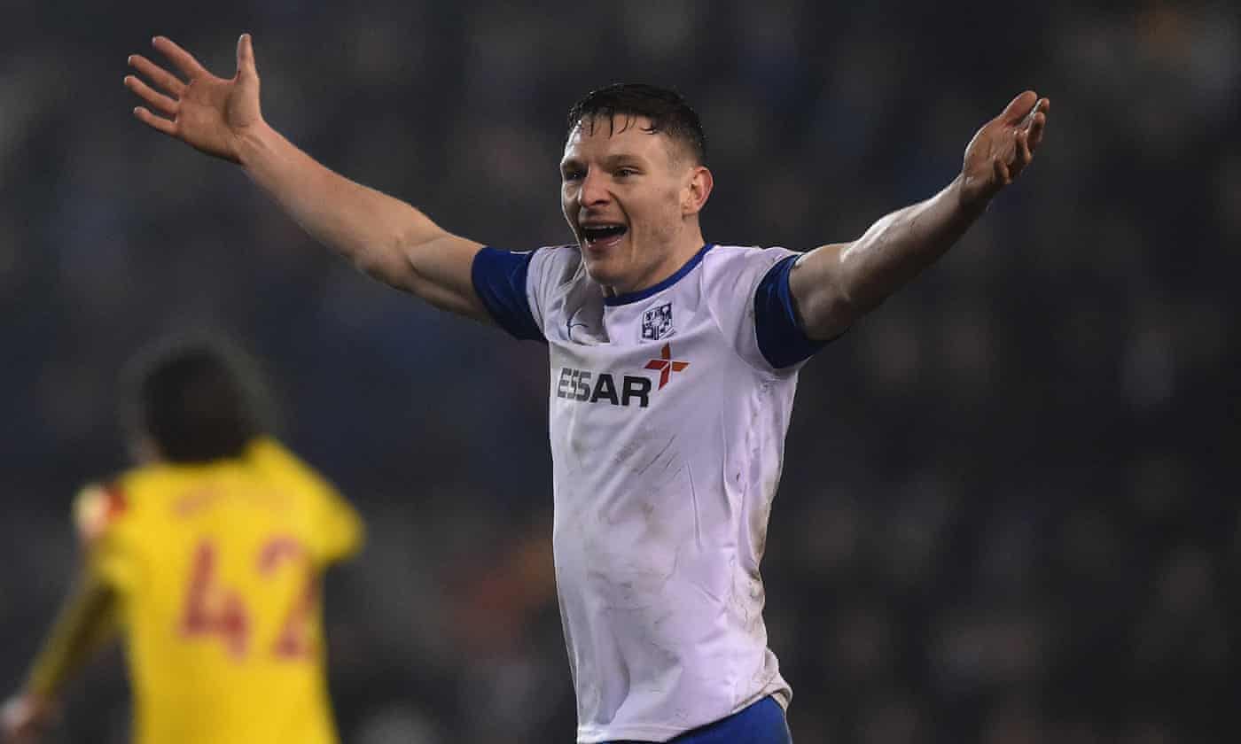 'It's a great feeling'. Tranmere's Paul Mullin ready for Manchester United