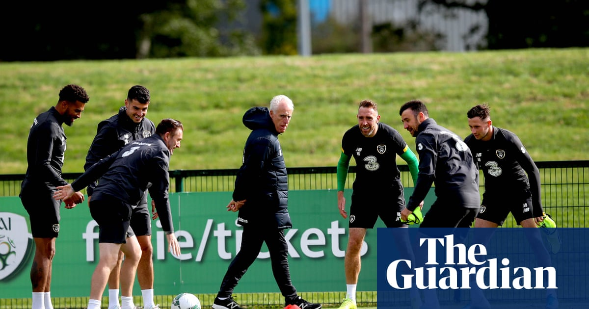 Mick McCarthy wary of Swiss threat to Republic of Ireland's positive start